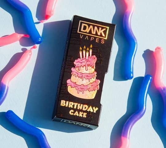 dank vape Birthday Cake